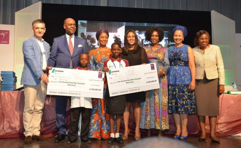 LAFARGE AFRICA COMMENCES REGIONAL STAGE FOR ITS 3RD NATIONAL LITERACY COMPETITION